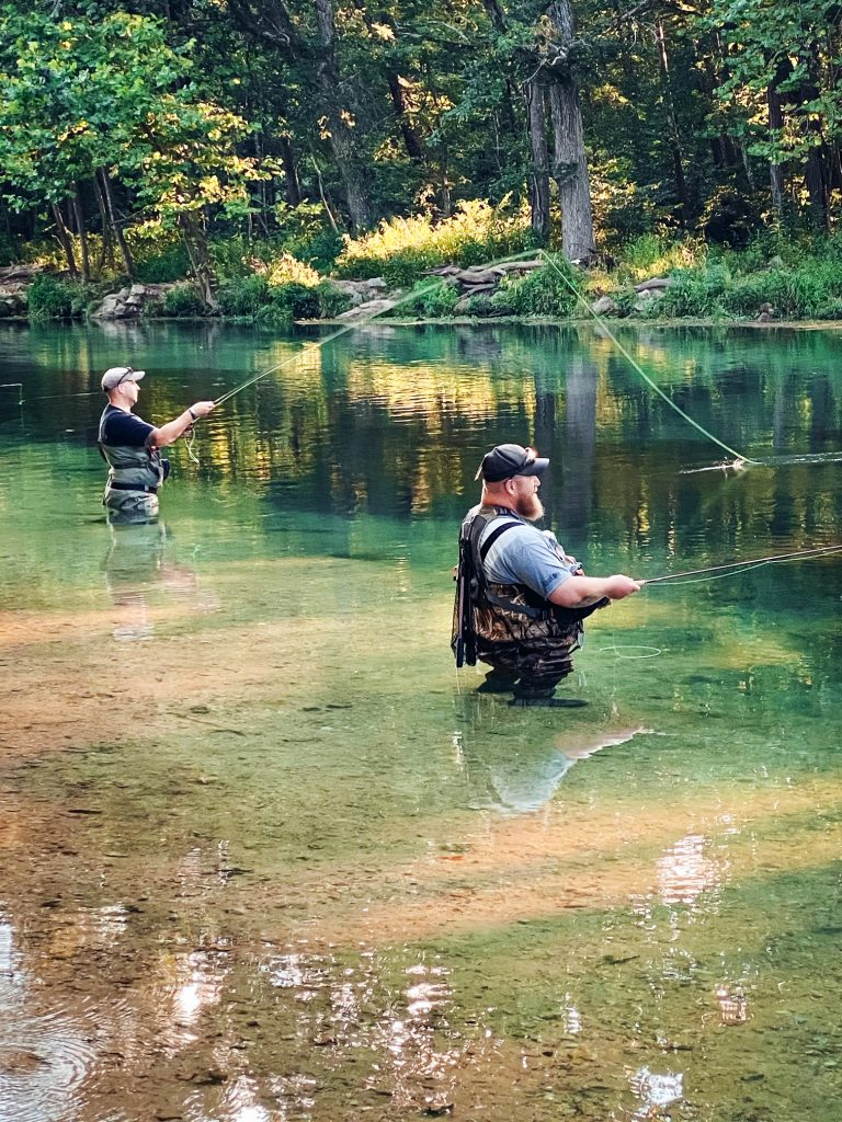 fishing at montauk state park